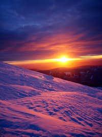 Sunrise on Baker (Winter 2006)