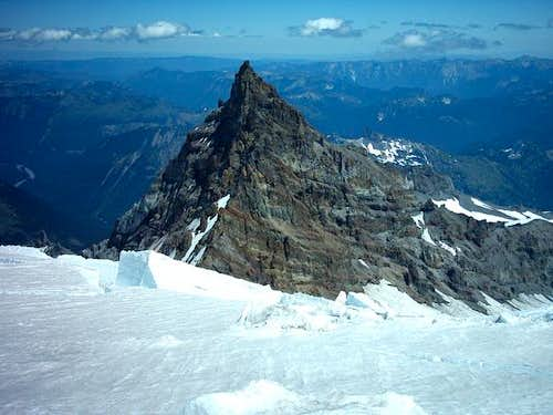 Little Tahoma from above...