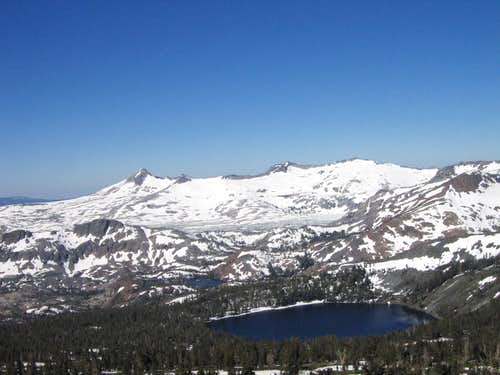 Desolation Wilderness Peaks to the S.W.