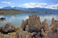 West to the High Sierra from Mono lake south shore