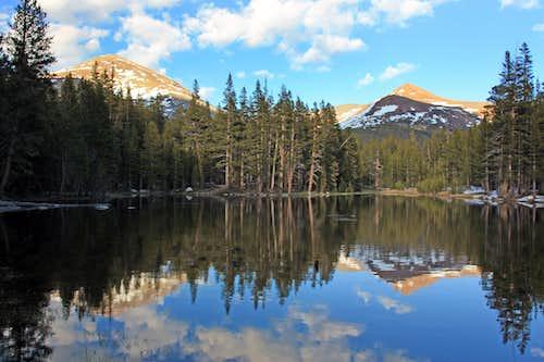 Mt. Dana and Mt. Gibbs reflection