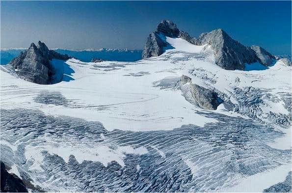 Hallstaetter glacier. At the...