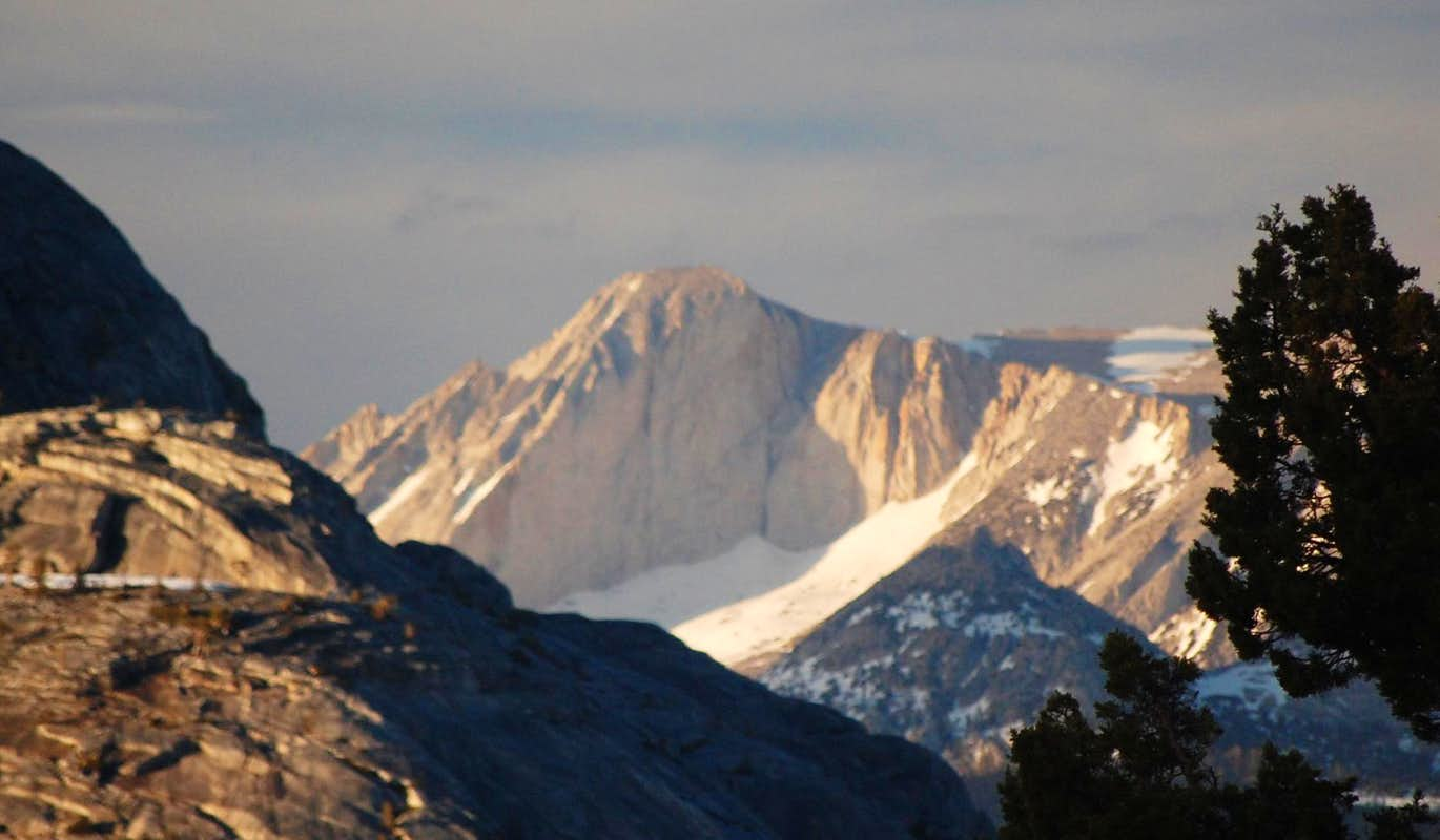 The SW Face of Mt Conness