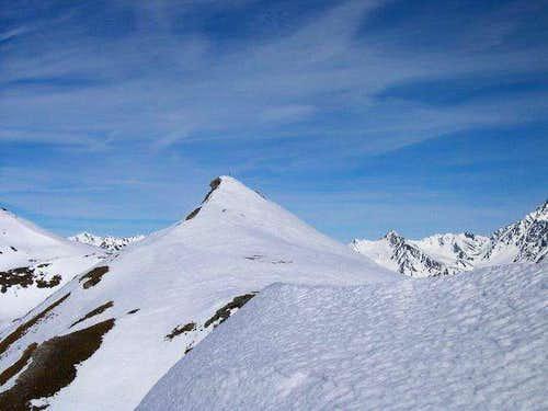 The Croix de Chaligne view...