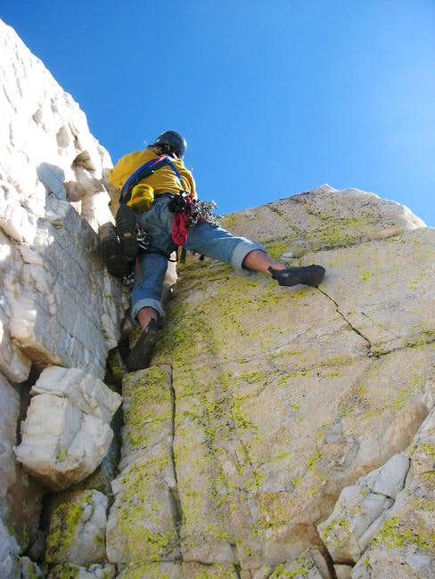 "Climbing on the ""Crystal..."