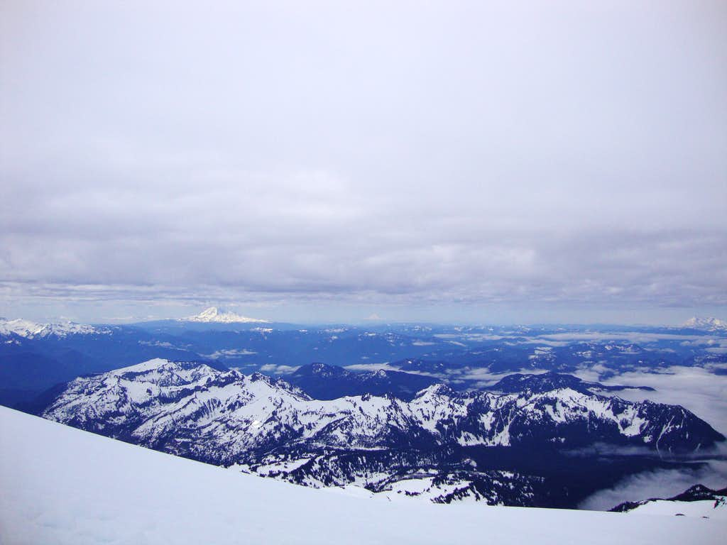 Looking south from Camp Muir