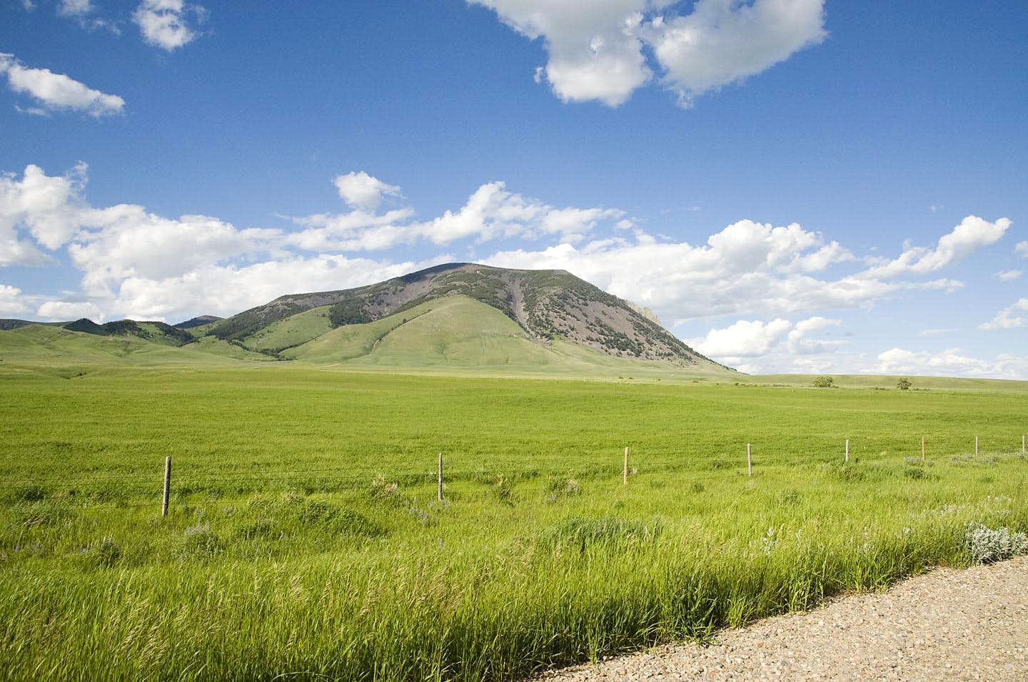 West Butte, Sweet Grass Hills