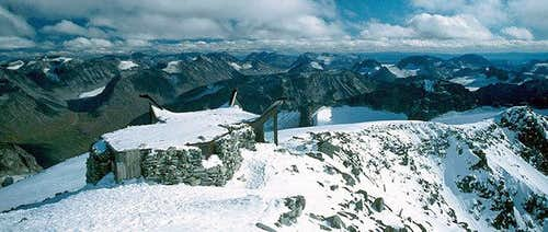 A view from the summit of...