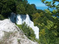 Chalk cliffs of Königstuhl