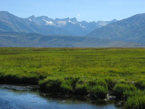 Sawtooth range as viewed from...
