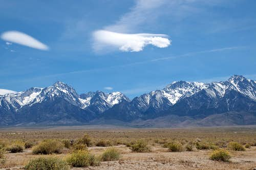 Eastern Sierra near Independence