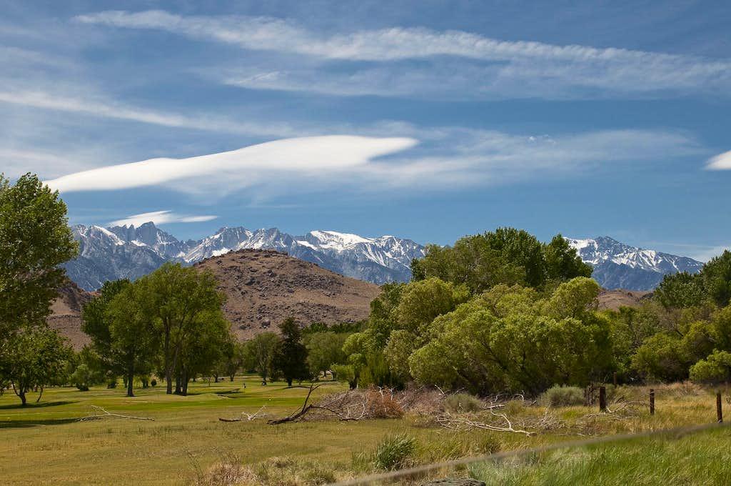 Eastern Sierra from Lone Pine
