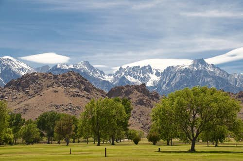 Eastern Sierra from Lone Pine