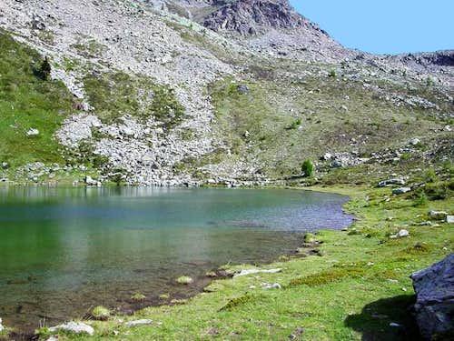 il lago Vernouille (2125 m.)