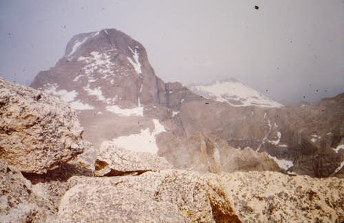 Longs Peak from Mount Meeker