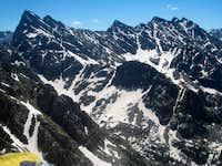Ripsaw Ridge from Corner Peak