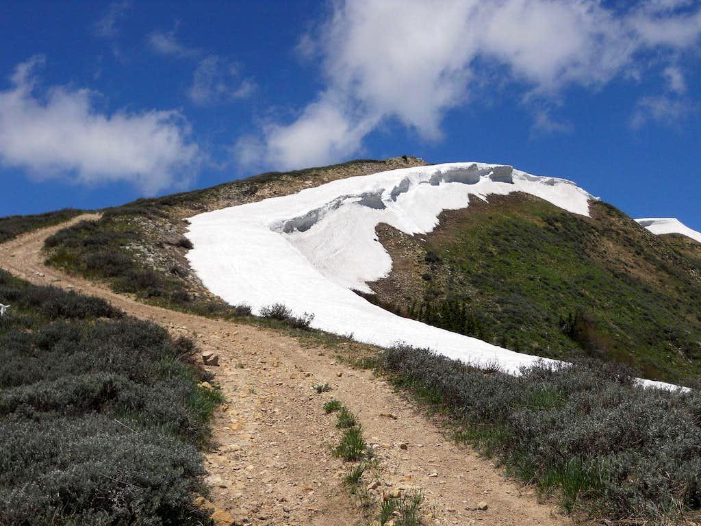 Providence Peak's South Ridge