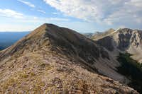 UN 12,900: view toward North Truchas Peak
