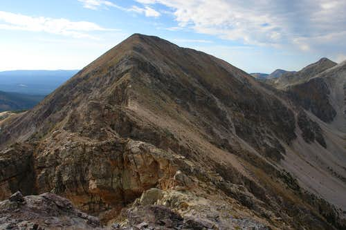 Northwest ridge of North Truchas Peak