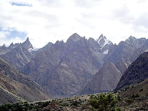 Peaks of Hushe Valley