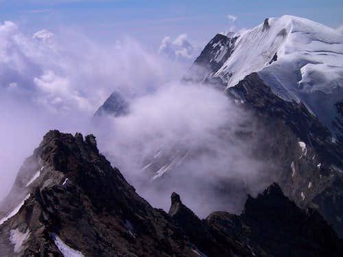 Laggin south ridge with...