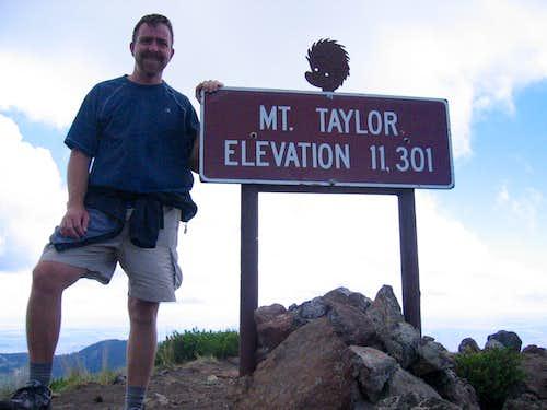 Mount Taylor Summit