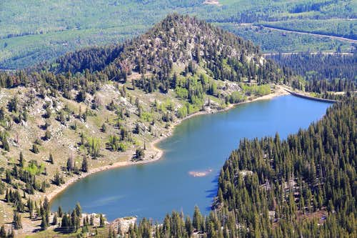 Mt. Evergreen and Twin Lakes Dam.