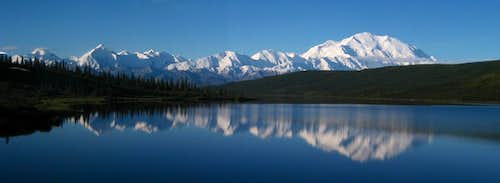 Denali and Alaska range