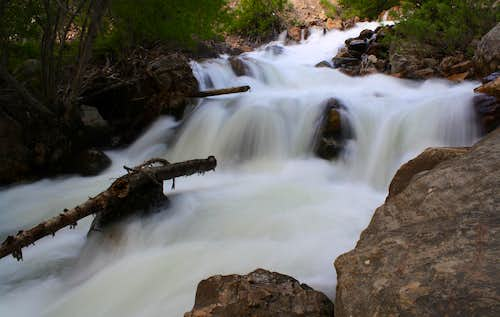 The Big Cottonwood Canyon River