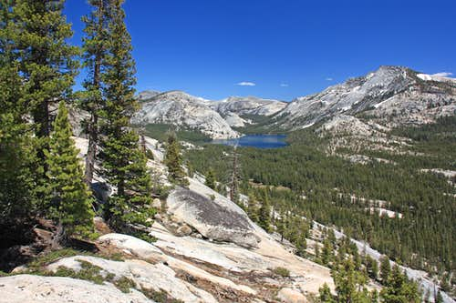 Tenaya Lake from Olmstead Point area
