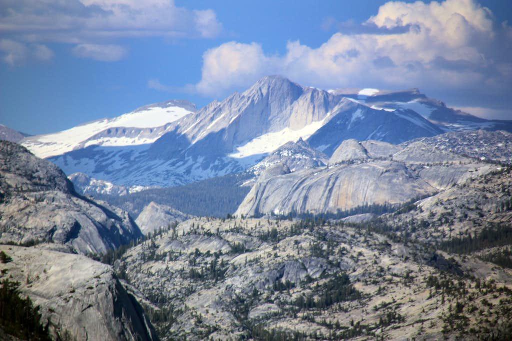 Mt. Conness from Illilouette Ridge