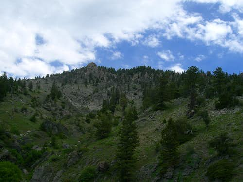 Upper Dry Canyon
