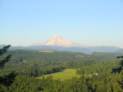 A typical NW Oregon view of a...
