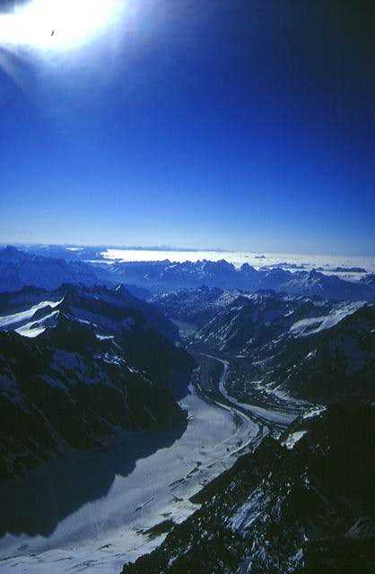 View towards the Grimsel-Pass...