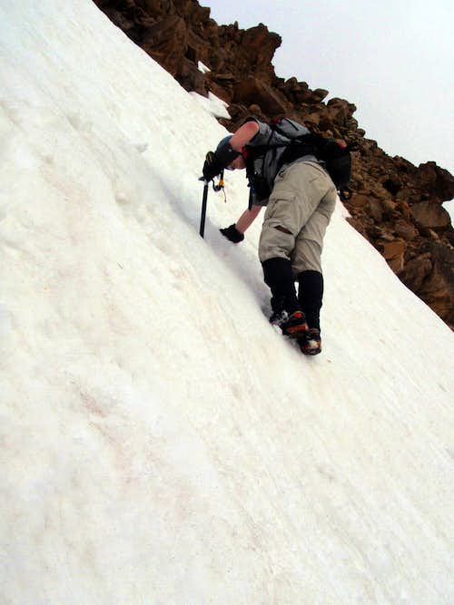 Steep Snow