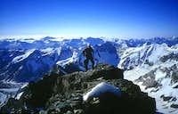 On top of the Lauteraarhorn,...