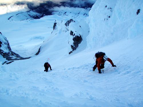 Mt. Hood Old Chute headwall