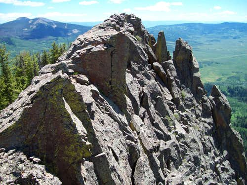Saddle Mountain Summit