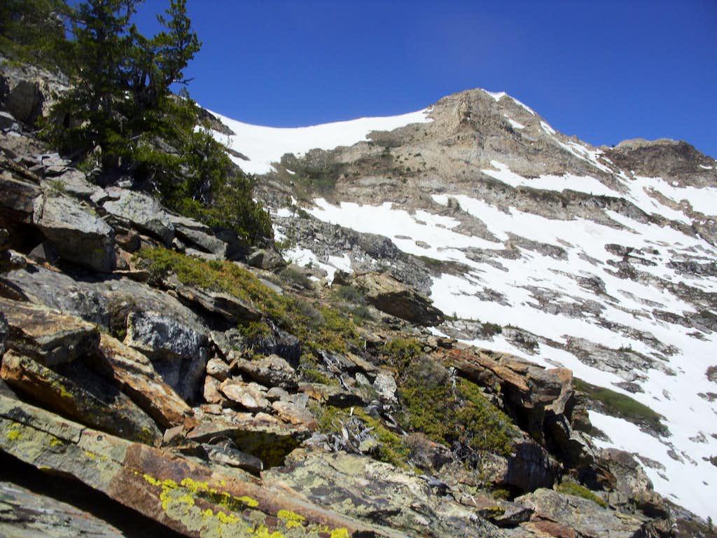 Greys Peak from the east ridge