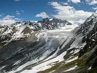 Glacier de Corbassière from...
