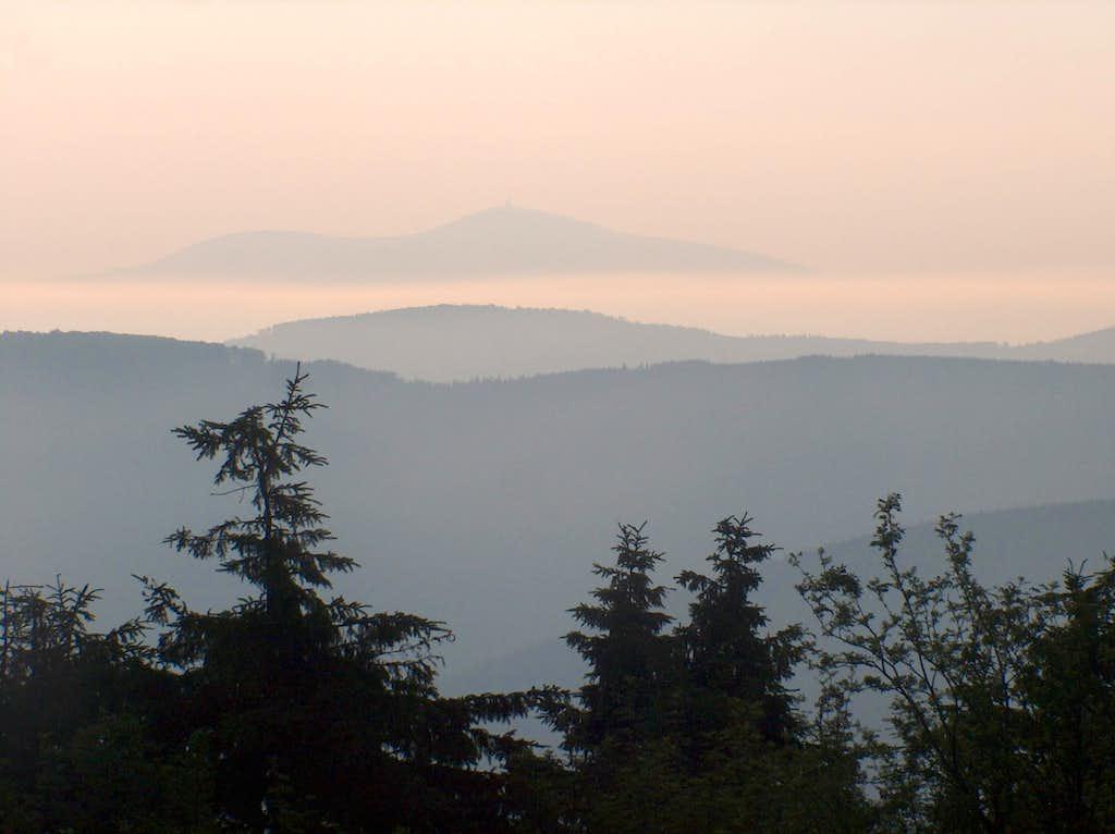 Lysá Hora from Radhošť