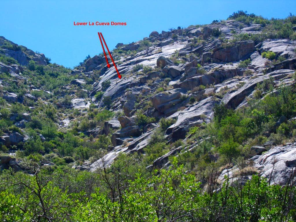 Lower La Cueva Domes