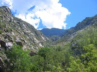 Lower La Cueva Canyon