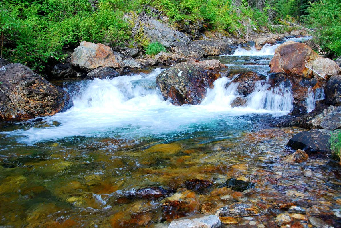 Small Waterfalls Photos Diagrams Topos Summitpost