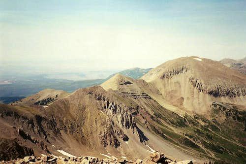 La Sal Range Minor Peaks