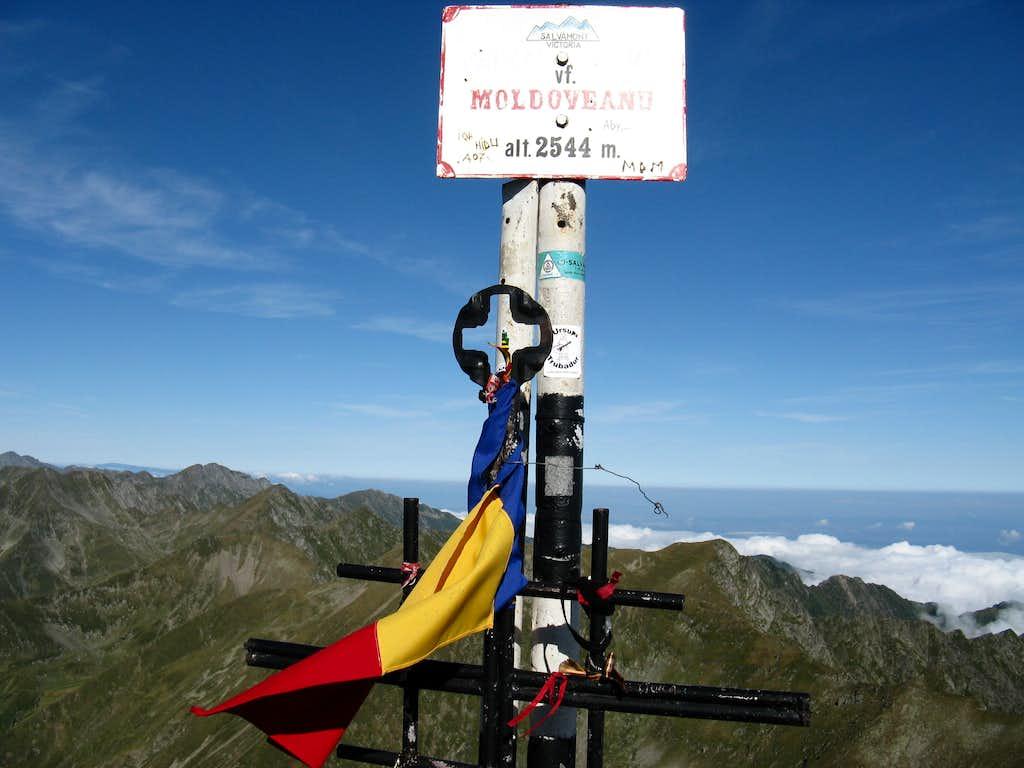 The top of Romania