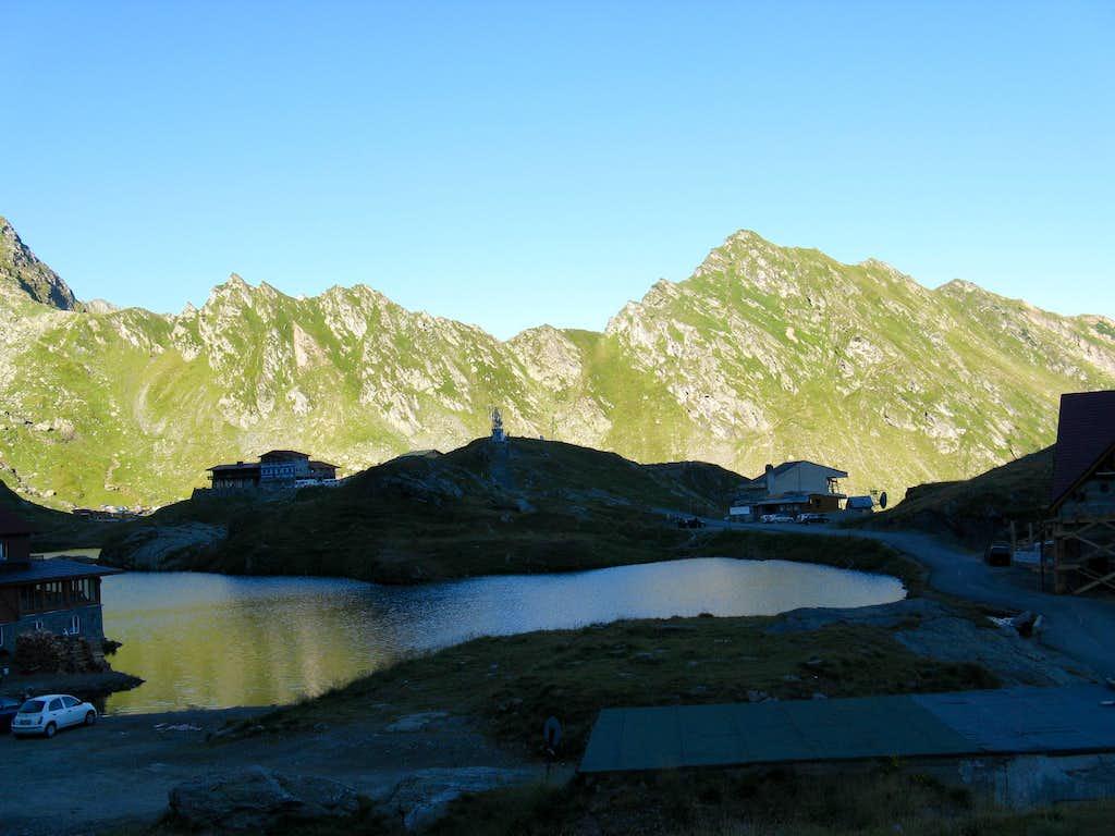 Resort of Lac Bâlea