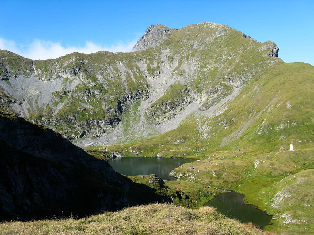 Vânătoarea lui Butenau peak (2507m)