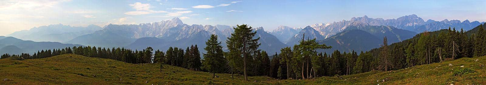 Julian Alps from Gorjane