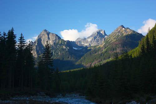 High Tatras at dawn